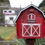 Mailbox flower garden