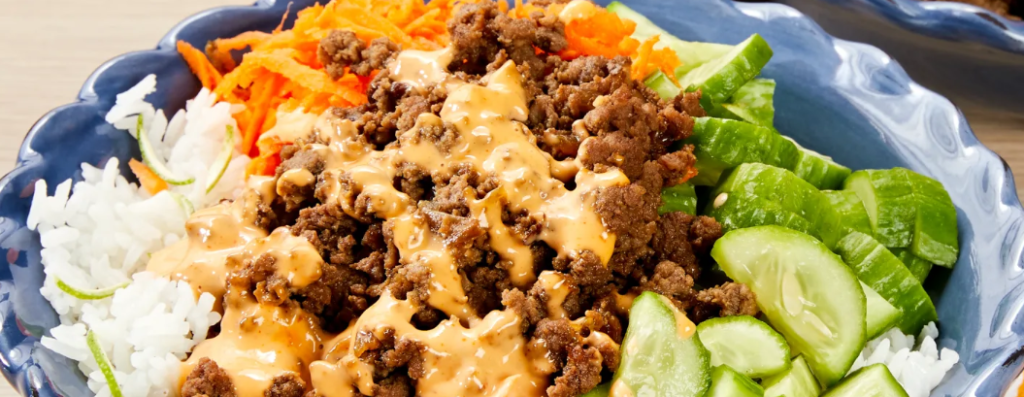 Beef Bahn Mi Bowl Recipe