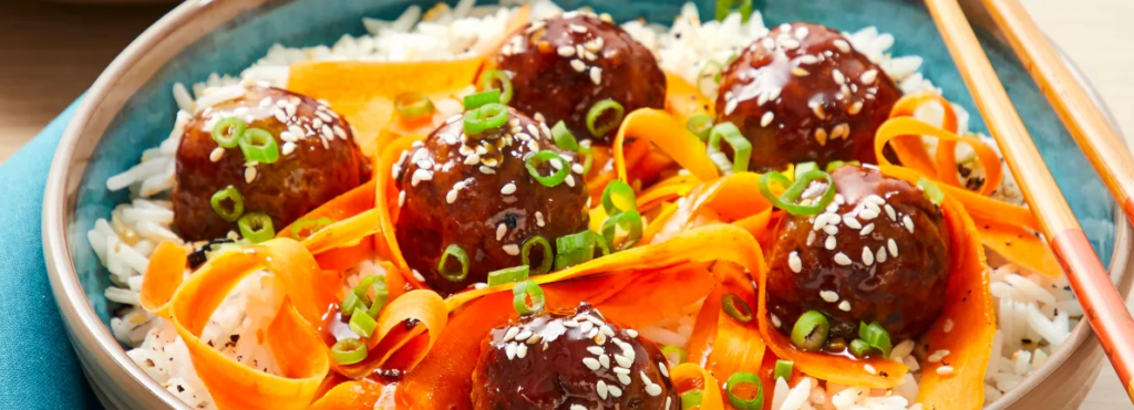 ponzu pork meatballs recipe