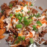 chili stuffed sweet potatoes