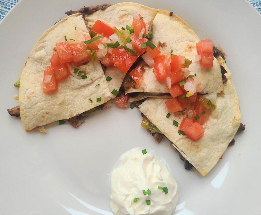 vegetarian quesadilla recipe