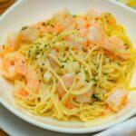 easy shrimp scampi with pasta recipe