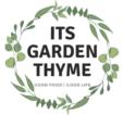 It's Garden Thyme